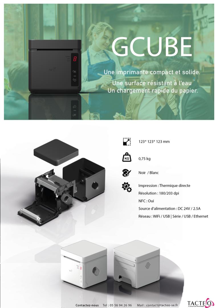 Fiche produit Imprimante GCUBE